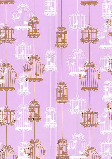 Lavender Bird Free Gift Wrap