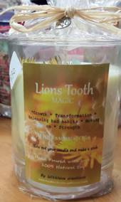 Lion's Tooth Magical Candle (strength and growth)