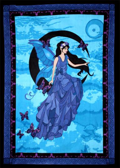 Moon Fairy Throw