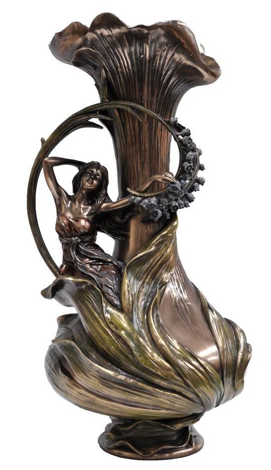 Vase - Lady holding hyacinth