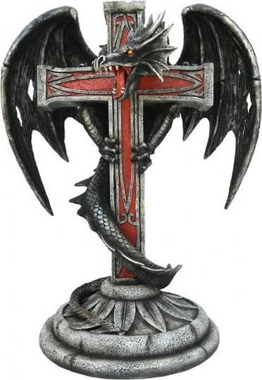 Large Dragon & Cross