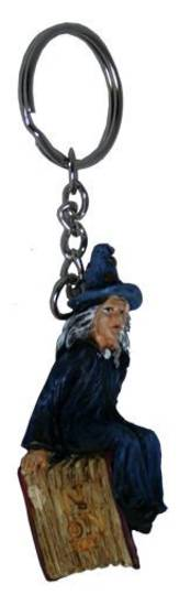 The Old Crone Keyring