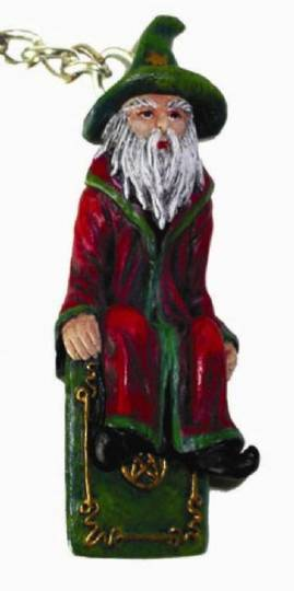 The Good Wizard Keyring