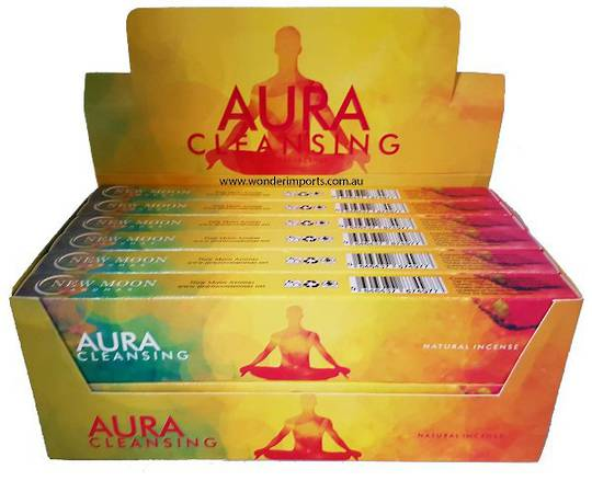 New Moon Aura Cleansing Incense 15gm