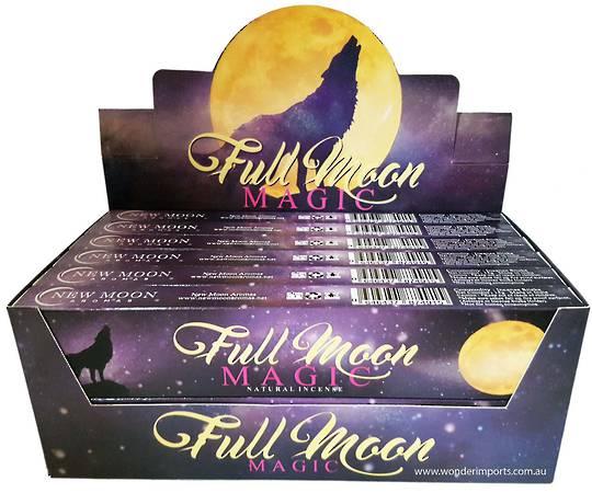 New Moon Full Moon Magic Incense Sticks