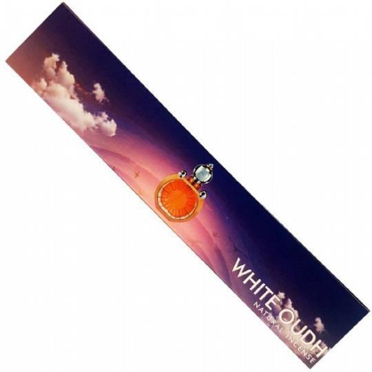 New Moon White Oudh Incense Sticks
