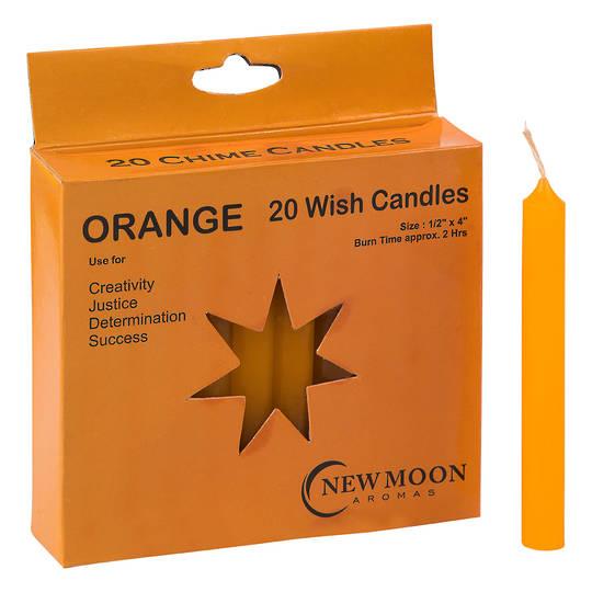 Wish Candle  (20 Pack) Orange