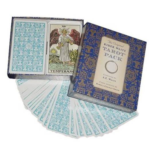 Original Rider Waite Tarot Set with Book