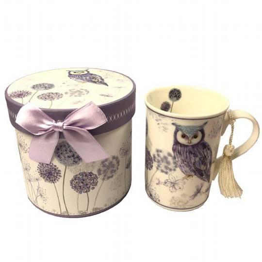 Owl T Time Mug With Gift Box