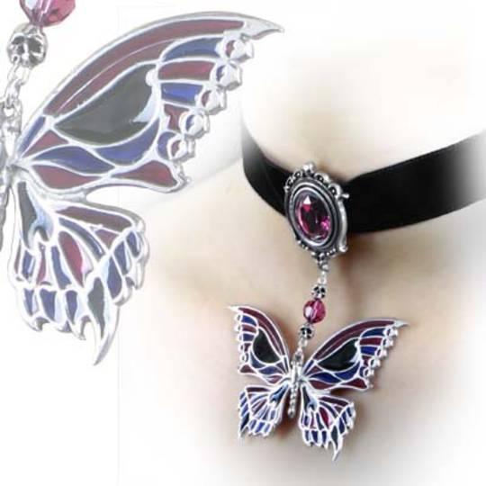 Death's-Head Butterfly Choker