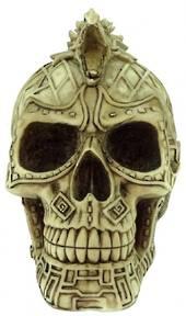 Skull Box with Dragon Lid