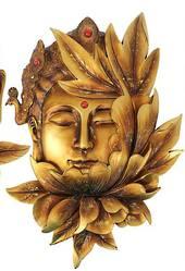 Enlightened Buddha Wall Sculpture