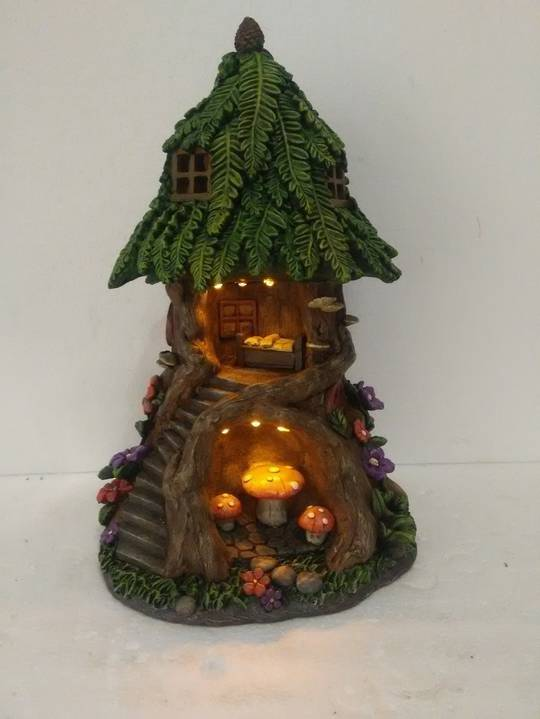 Cave Tree Fairy House