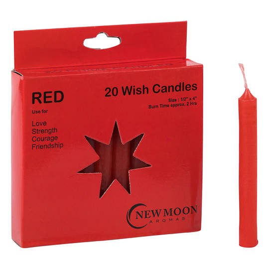 Wish Candle (20 Pack) Red