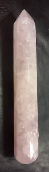 Rose Quartz Crystal Wand {rq)