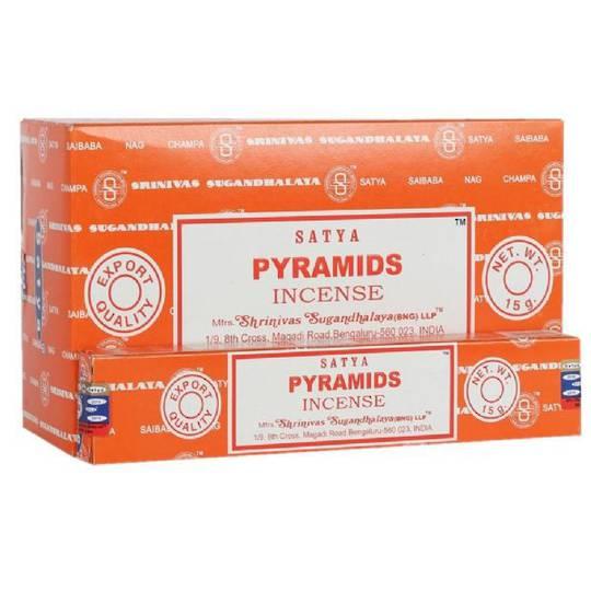Satya Pyramids Incense 15gm