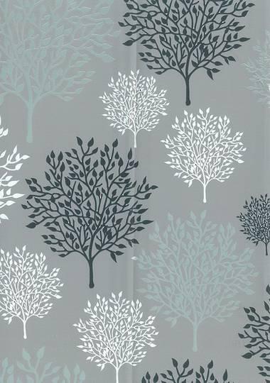 Silver Tree Free Gift Wrap
