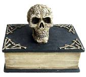 Skull Book Box
