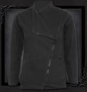 Slant Zip Women Biker Jacket Black XXL was $120 now $60