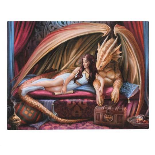 Small Inner Sanctum Dragon Canvas