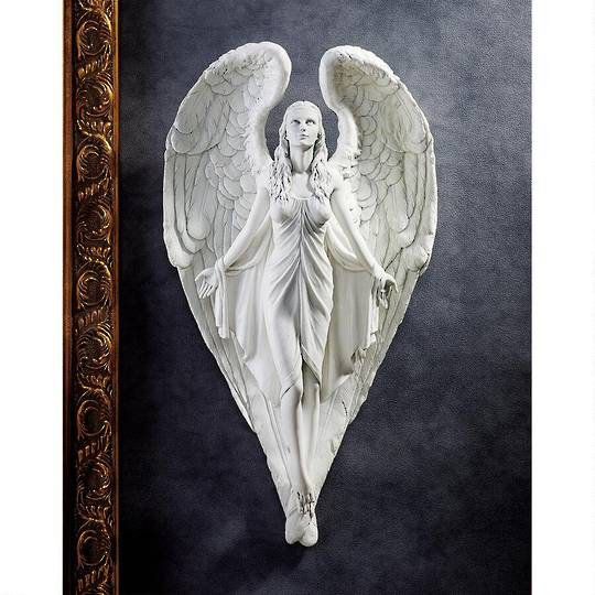 Spiritual Path Angel Wall Sculpture