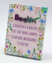 Spring Daughter Plaque