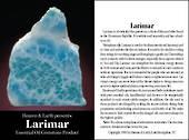 larimar Crystal/Gem Essential Oil