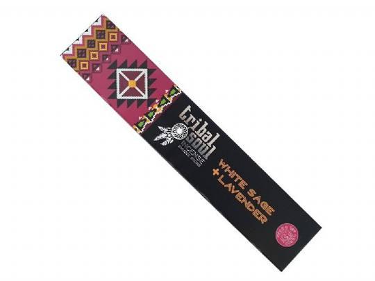 Tribal Soul White Sage + Lavender Incense Smudge Sticks