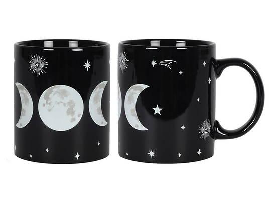 Triple Moon Goddess Mug