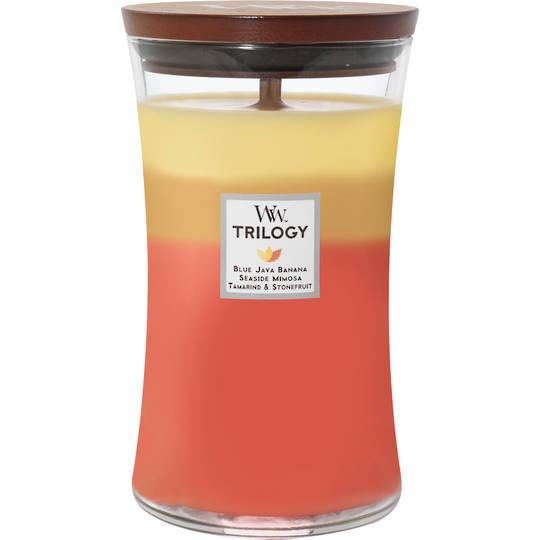 Woodwick Large Candle Tropical Sunrise Trilogy