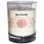 Gemstone Candle – Universal Love Rose Quartz