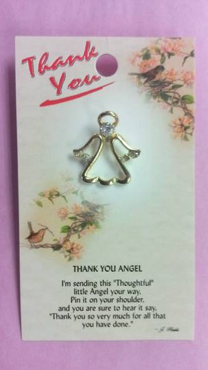 Thank You Angel Pin