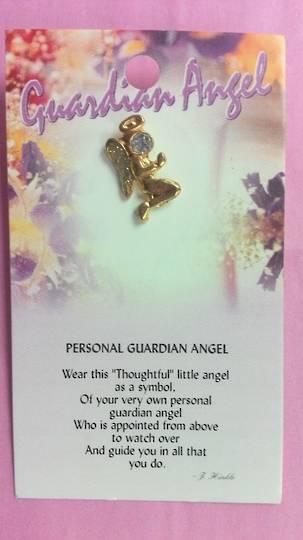 Personal Guardian Angel Pin