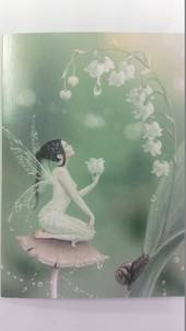 Fairy with Lillies Card and Envelope