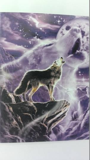 Spirit Wolf Card and Envelope