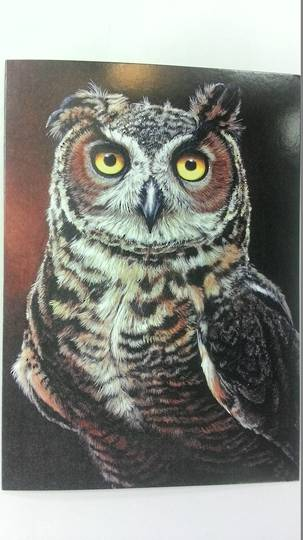 Brown Owl Card and Envelope