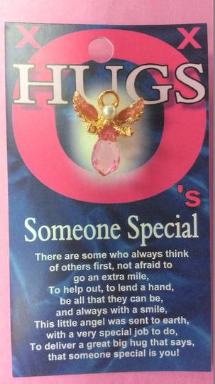 Hugs Angel Pin