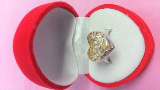 Filagree Heart Ring