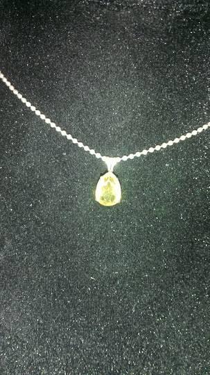 Small Citrine Necklace