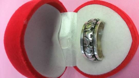 Elephant Worry Ring