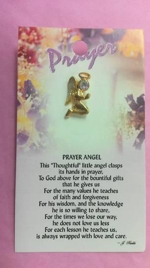 Prayer Angel Brooch