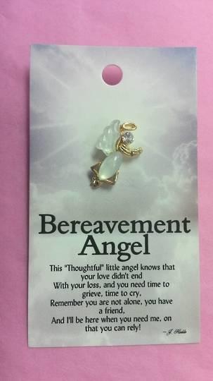Breavement Angel Brooch