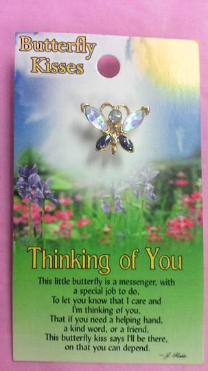 Thinking Of You Angel Brooch