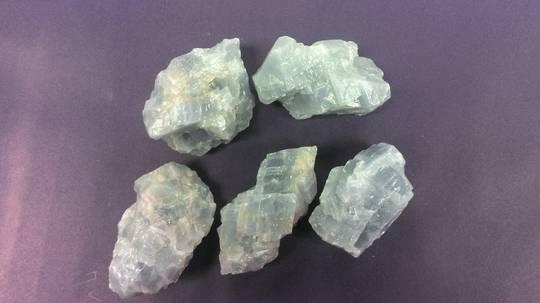 Blue Calcite Rough Piece