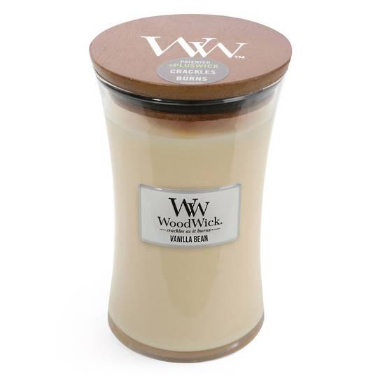 WOODWICK-LARGE Candle-VANILLA BEAN