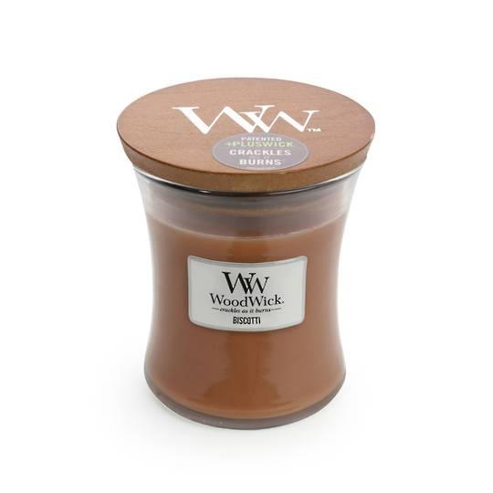 WOODWICK-MEDIUM-Candle BISCOTTI