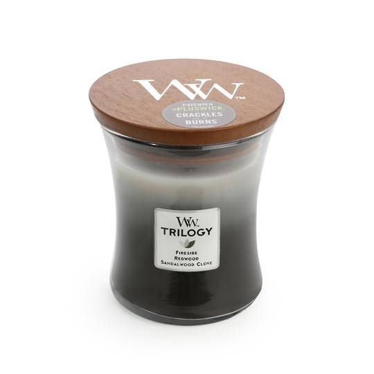 WOODWICK-TRILOGY Candle-WARM WOODS