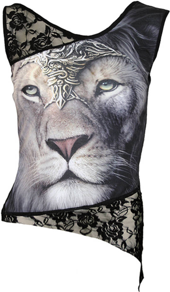 Lion Lace Sleeveless Top (XL) was $65 now $35