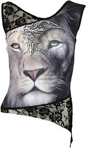 Lion Lace Sleeveless Top (XXL) was $65 now $35