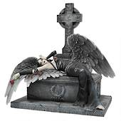 Mistress of the Crypt Gothic Angel Statue